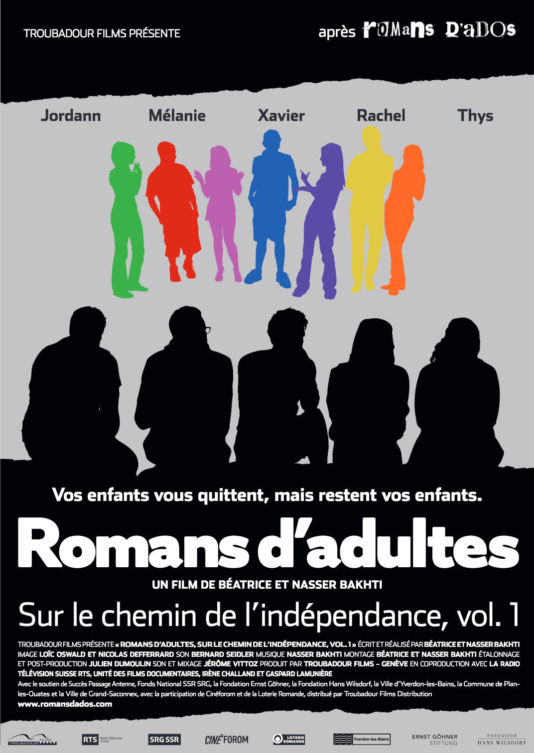 Affiche Vol. 1 Romans d'adultes