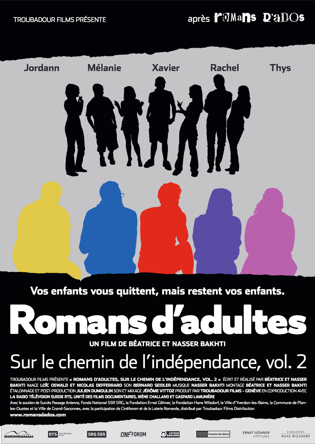 Affiche Vol. 2 Romans d'adultes